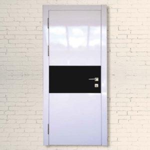 Межкомнатные двери Модерн Элит+белое