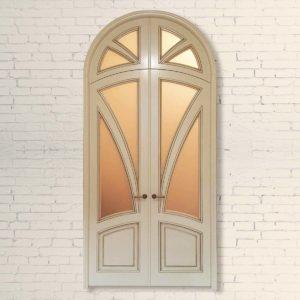 Межкомнатная дверь Арочная Модель №2