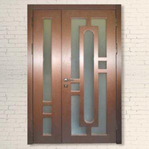 Межкомнатная Двустворчатая дверь Фараон