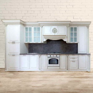 Кухня Классика Белая Модель 1
