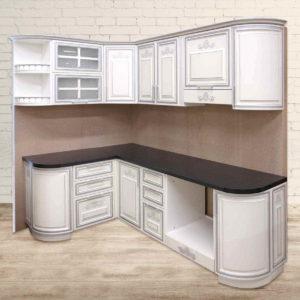 Кухня Классика Белая Модель 2