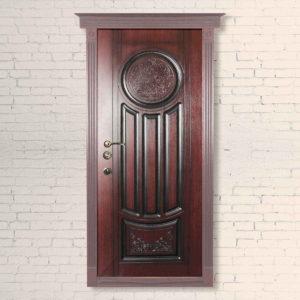 Входная дверь «Престол» 3d+патина