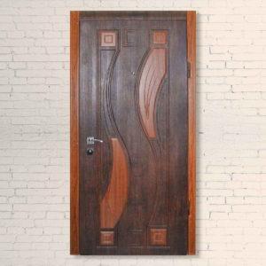 Входная дверь 2+2 Домино