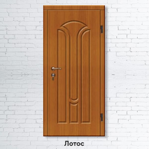 Входные двери лотос