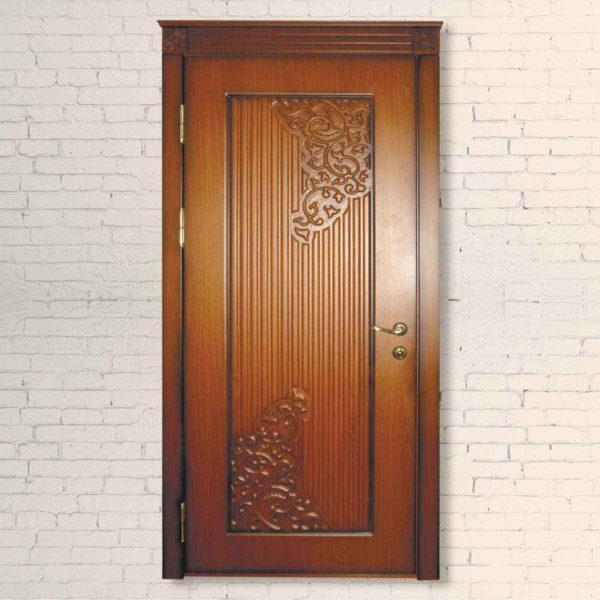 Межкомнатная дверь 3D Плющ