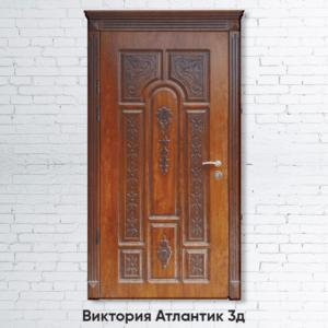 Входные двери «Виктория Атлантик 3д»