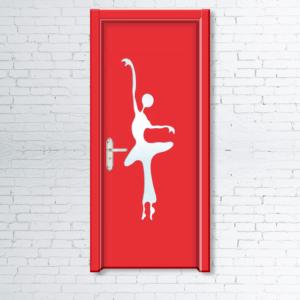 Межкомнатные двери для детей «Балерина 2»