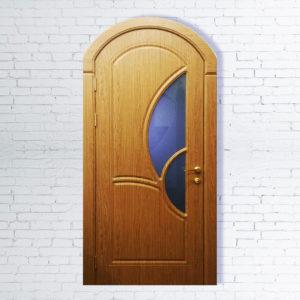 Межкомнатная дверь Арочная Модель №5