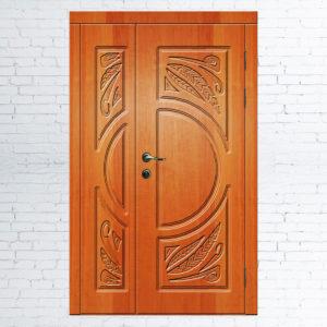 Межкомнатные двустворчатые двери Венеция модель 1