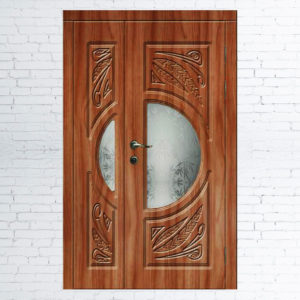 Межкомнатные двустворчатые двери Венеция модель 2