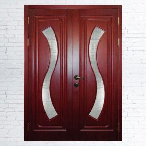 Межкомнатные двустворчатые двери Фрида