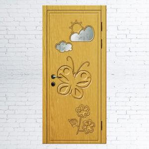 Межкомнатные двери для детей «Бабочка»