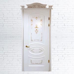 Межкомнатные двери «Омега обклад + декор»