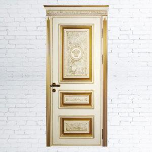 Межкомнатные двери «Versace трио + подрыв»