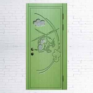Межкомнатные двери для детей «Вертолетик»