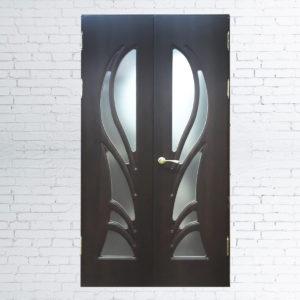 Межкомнатные двустворчатые двери «Модель №50»
